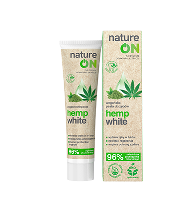 NatureOn Hemp White pasta do zębów