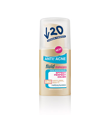 UNDER 20 Fluid Effect Perfect Cover Natural Matt