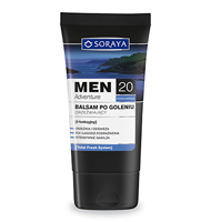 SORAYA MEN ADVENTURE 20+ Balsam po goleniu
