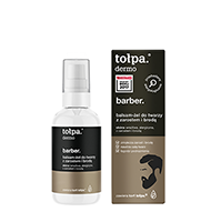 TOŁPA MEN dermo barber. balsam-żel do twarzy z zarostem i brodą, 75 ml